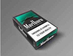 万宝路黑绿薄荷香烟核心